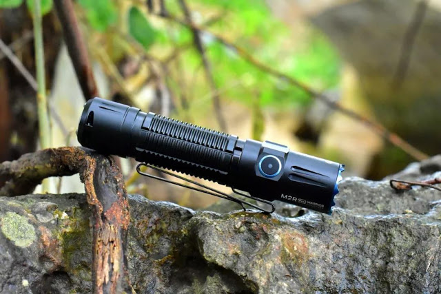 Rechargeable olight brightest flashlight M2R Pro