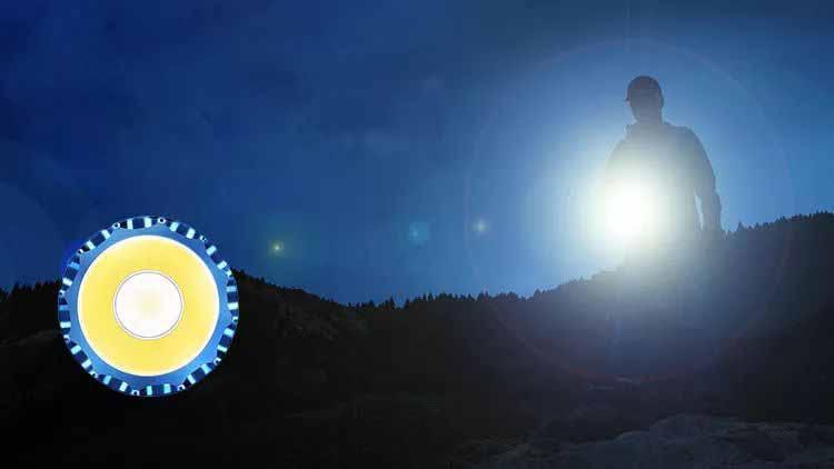LED outdoor flashlight