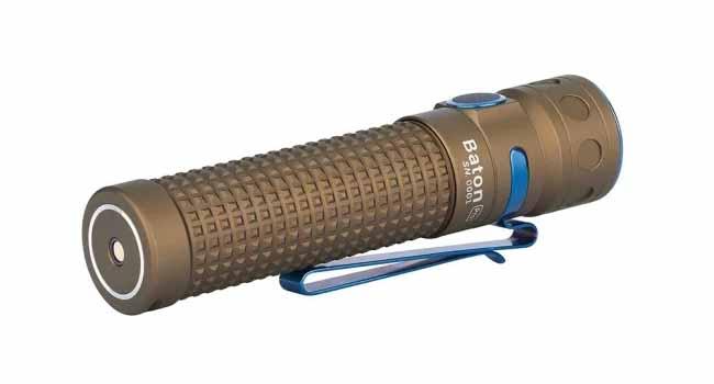 outdoor flashlight Baton Pro Desert Tan
