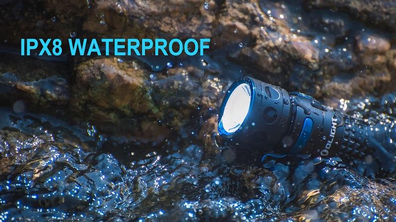 IPX8 Waterproof  Outdoor Flashlight