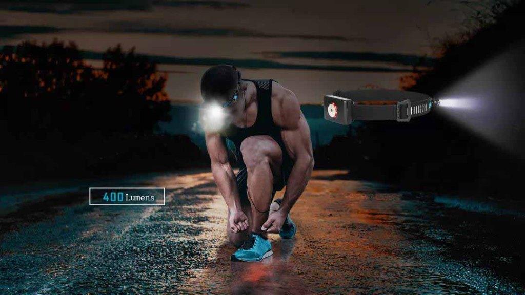 400 lumens best running headlamp