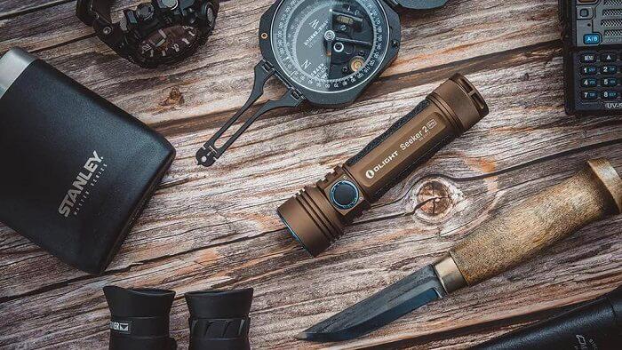 rechargeable EDC flashlight